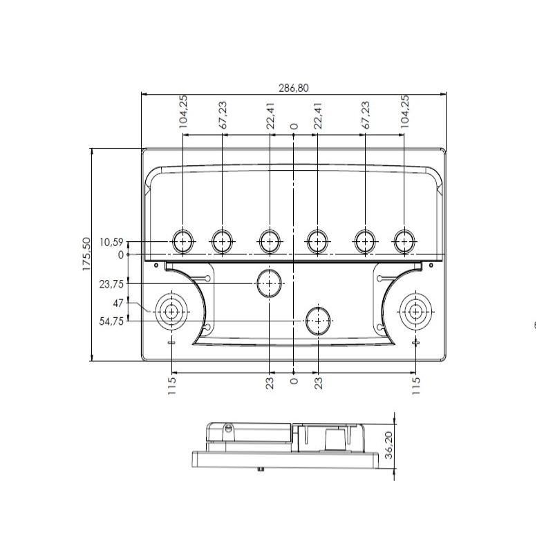 Desenho Técnico Tampa D-20 FREE
