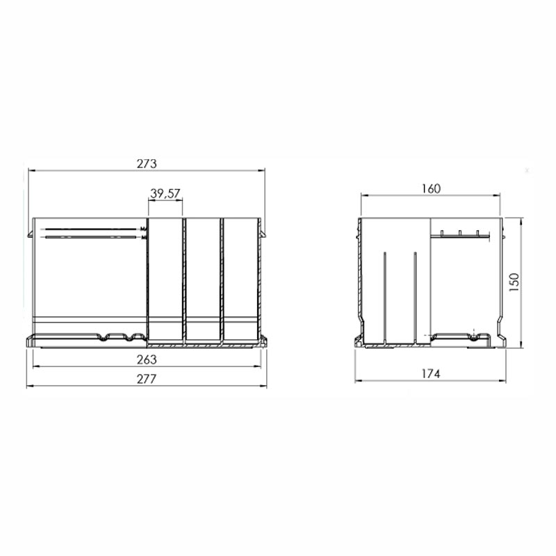 Desenho Técnico Caixa LB3