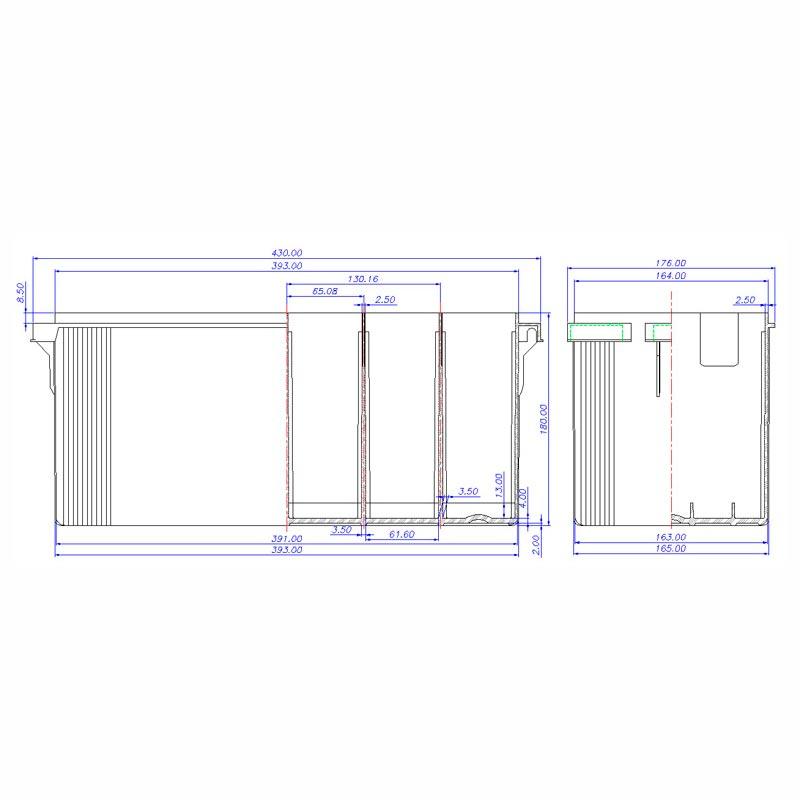 Desenho Técnico Caixa PLX-30