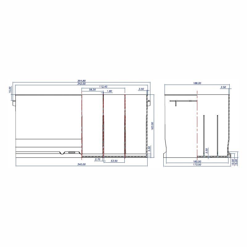 Desenho Técnico Caixa L5 (SPRINTER)