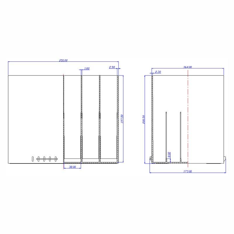 Desenho Técnico Caixa G-24 200
