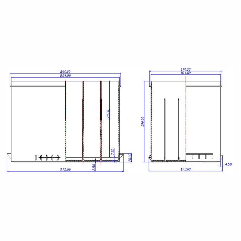 Desenho Técnico Caixa GR-24F
