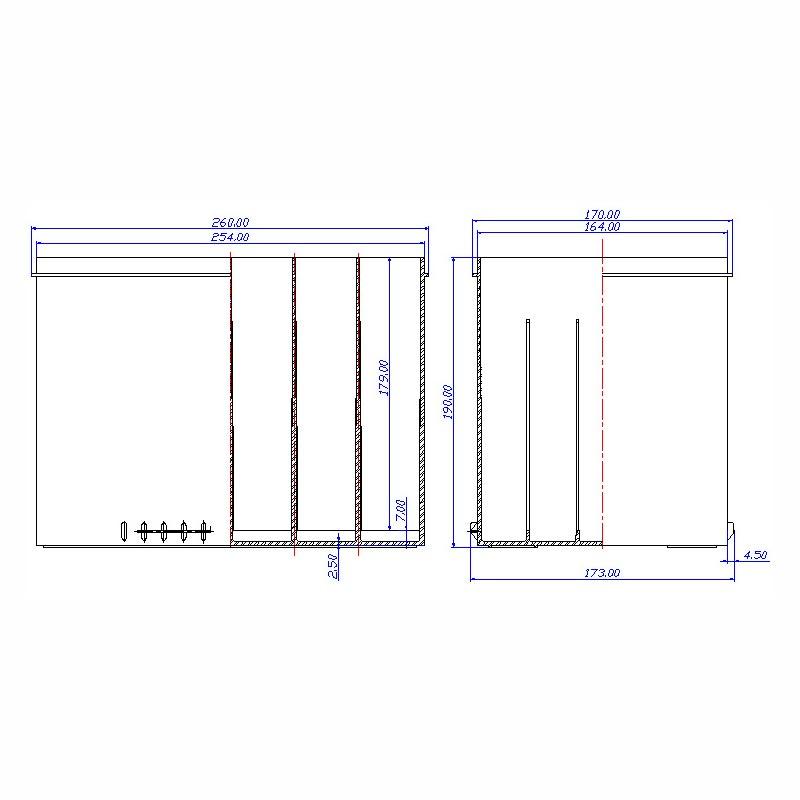 Desenho Técnico Caixa GR-24