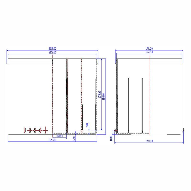 Desenho Técnico Caixa GR-25/35