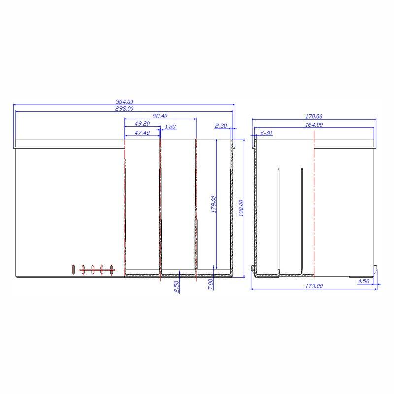 Desenho Técnico Caixa GR-27