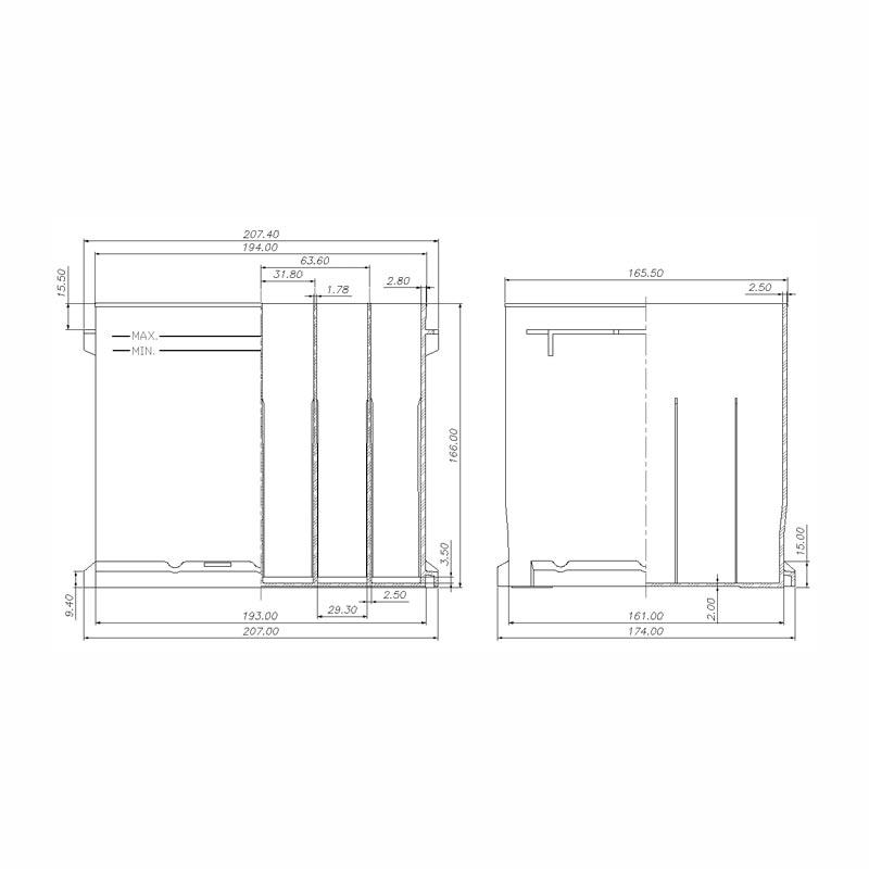 Desenho Técnico Caixa L1