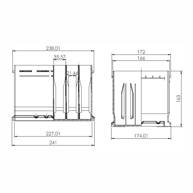 Desenho Técnico Caixa L2