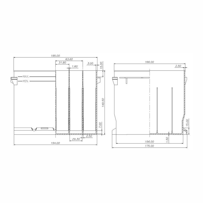 Desenho Técnico Caixa LB1