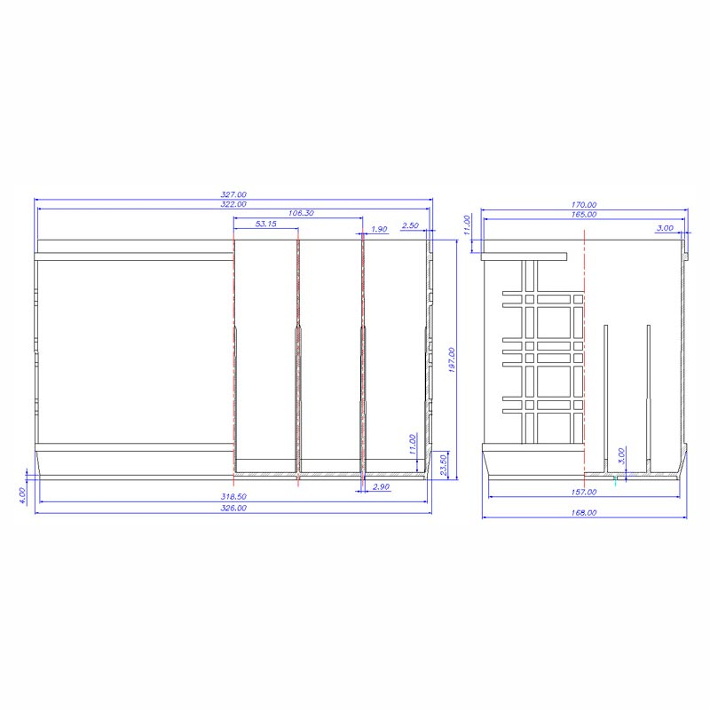 Desenho Técnico Caixa GR-31