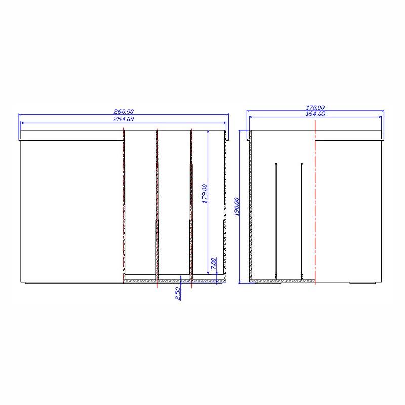 Desenho Técnico Caixa N-50