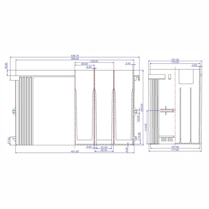 Desenho Técnico Caixa TOYOTA