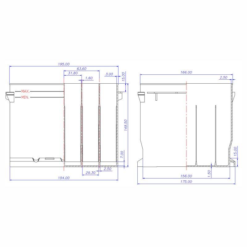Desenho Técnico Caixa VOLKS