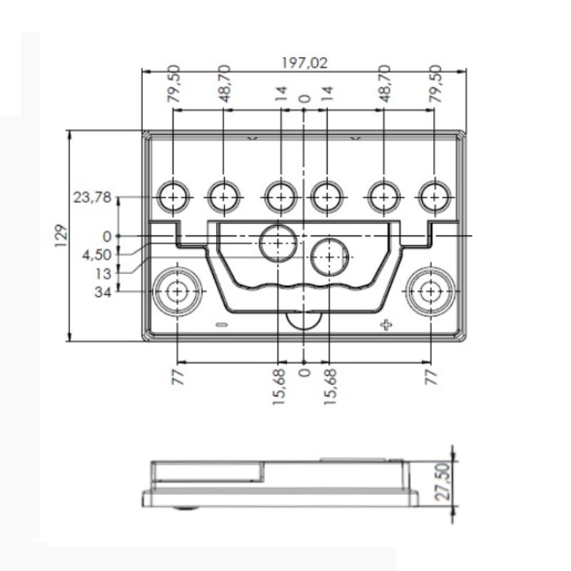 Desenho Técnico Tampa NS-40 FREE