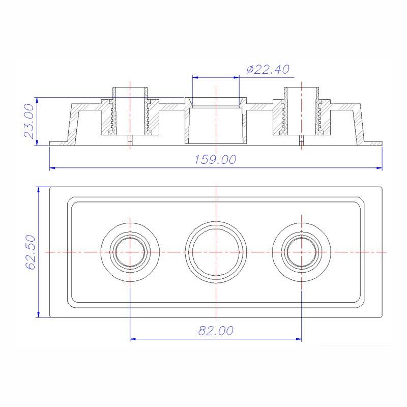 Desenho Técnico Tampa 052PRG