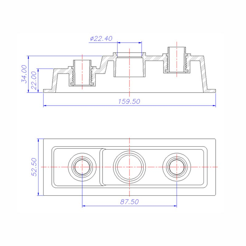 Desenho Técnico Tampa 053B