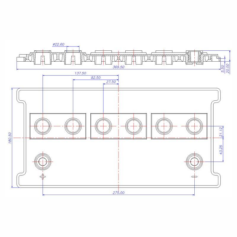 Desenho Técnico Tampa PLX-26