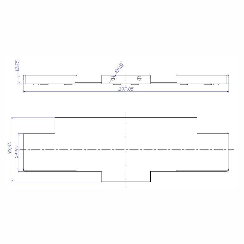 Desenho Técnico Acessório SOBRETAMPA (TAPETA/UPPER LID) GR-31
