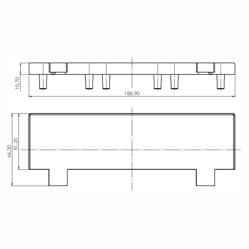 Desenho Técnico Acessório SOBRETAMPA(TAPETA/UPPER LID): NS-40 FREE SEM ACESSO