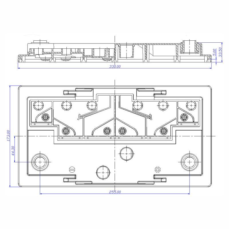 Desenho Técnico Tampa GR-31 FREE