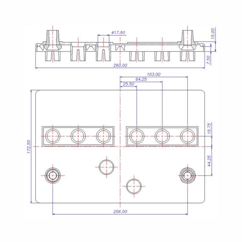 Desenho Técnico Tampa GR-24 TRADICIONAL (Manutenção)