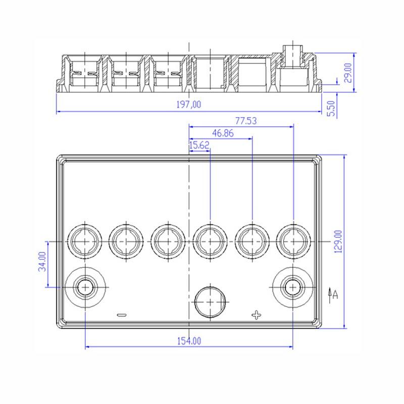 Desenho Técnico Tampa NS-40 TRADICIONAL (Manutenção)