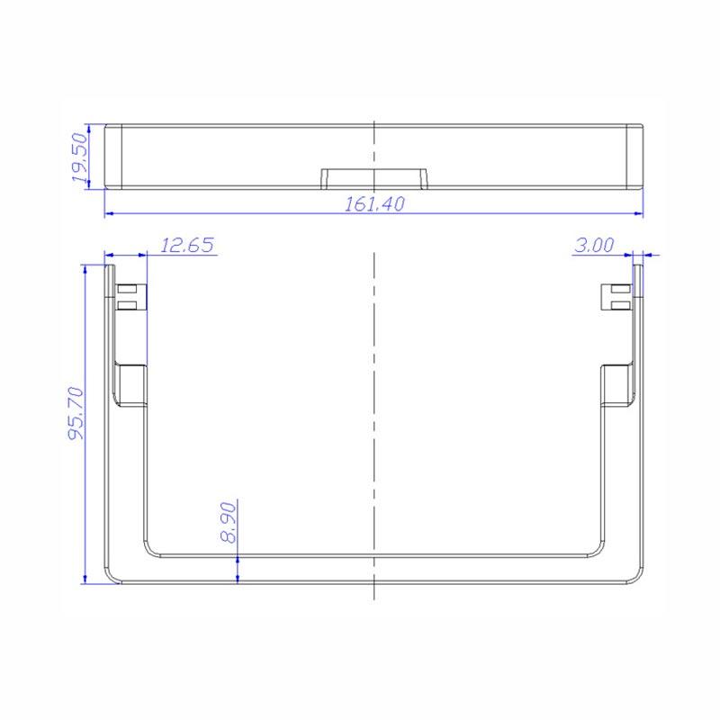 Desenho Técnico Acessório ALÇAS (MANIJAS) GR-31