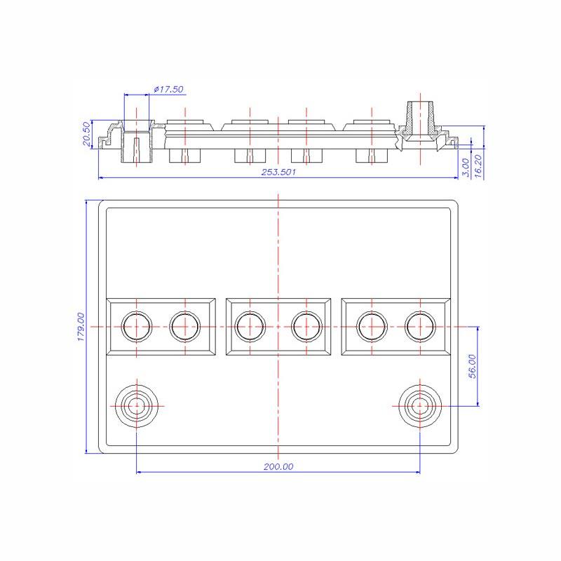Desenho Técnico Tampa D-OPALA