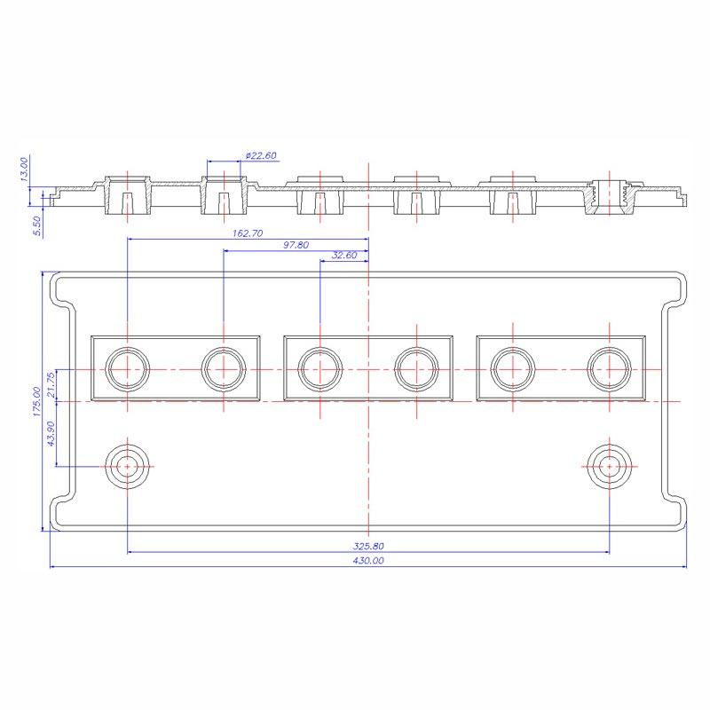 Desenho Técnico Tampa PLX-30
