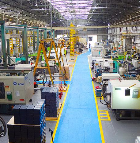 Dallon – Soluções em plásticos, metais e derivados - Fábricas Jacarezinho – Rolândia/PR