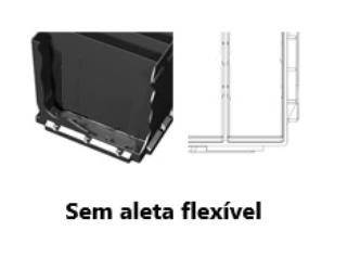 Versão de Caixa SEM ALETAS (COSTILLA) INTERNAS